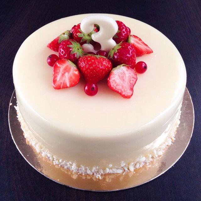 Как сделать белую глазурь для торта в домашних условиях видео