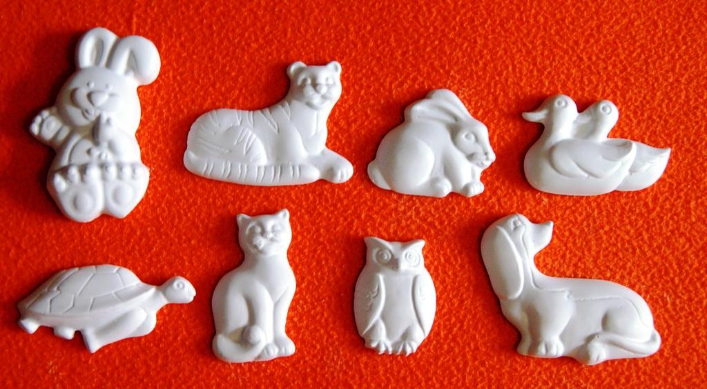 Гипсовые фигуры для рисования для детей своими руками 46