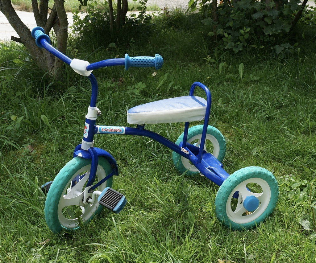 Как сделать трёхколёсный велосипед детский 455