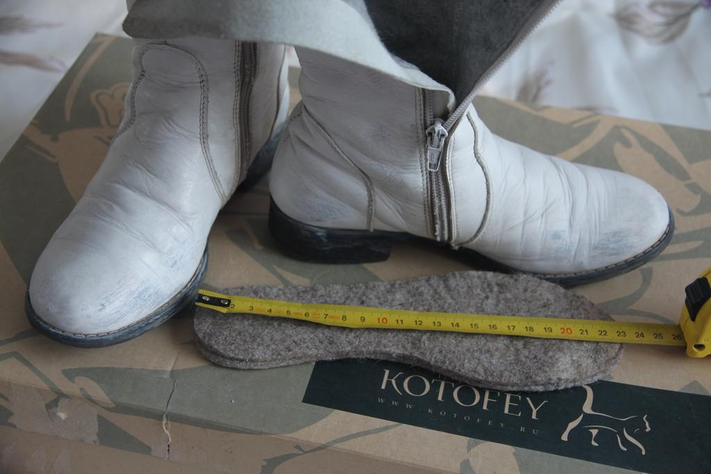 Обувь из овечьей шкуры своими руками 1601