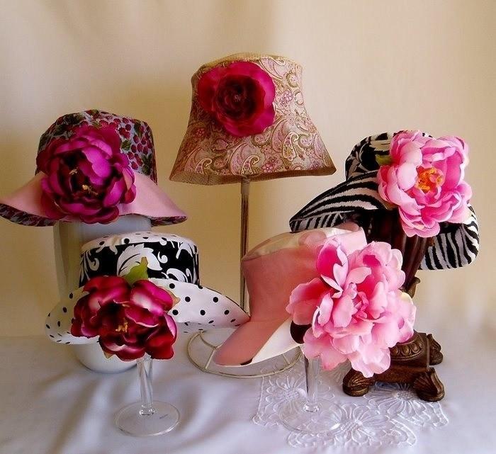 Как украсить шляпДекор из глины своими руками