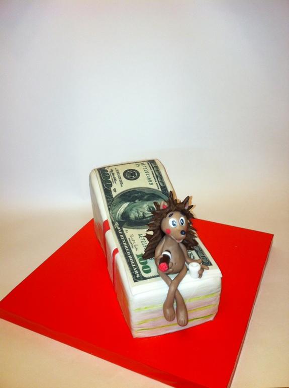 Торт с ежиком