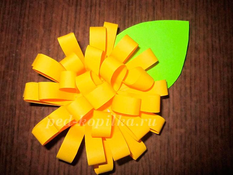 Цветы из бумаги - Учебно-методический кабинет