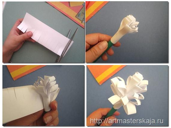 Как сделать руку из бумаги пошаговое