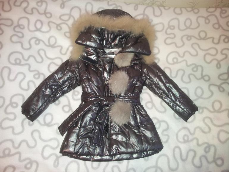 Шикарное пальто и кофта De Salitto на 2 года как новые