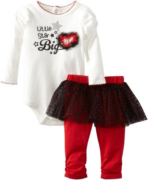 Красивые комплекты и платья для девочек от Calvin Klein, Nannette, YoungLand от 6 мес до 3х лет