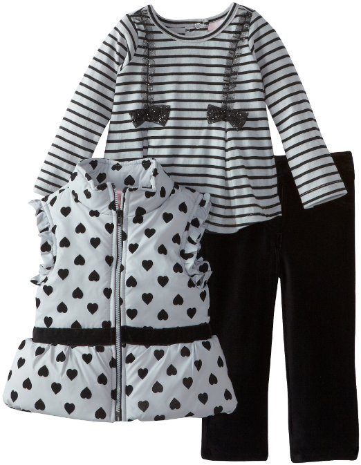 Красивые комплекты и платья для девочек от Calvin Klein, Nannette, YoungLand от 6 мес до 4х лет