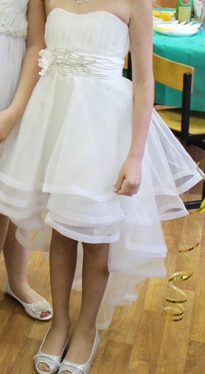 Красивые нарядные платья для девочек
