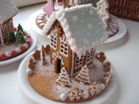 Пряничный домик из печенья своими руками 129
