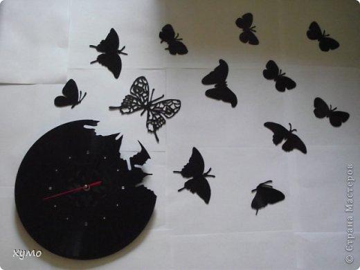 Бабочки своими руками из пластинок 94