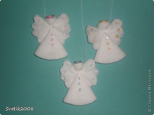 Новогодние поделки ангелочков своими руками