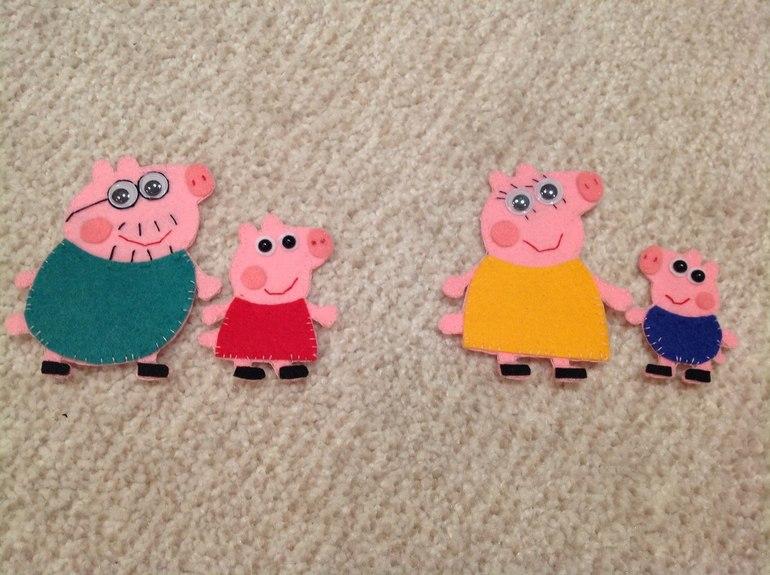 Поделка свинка пеппа своими руками 33
