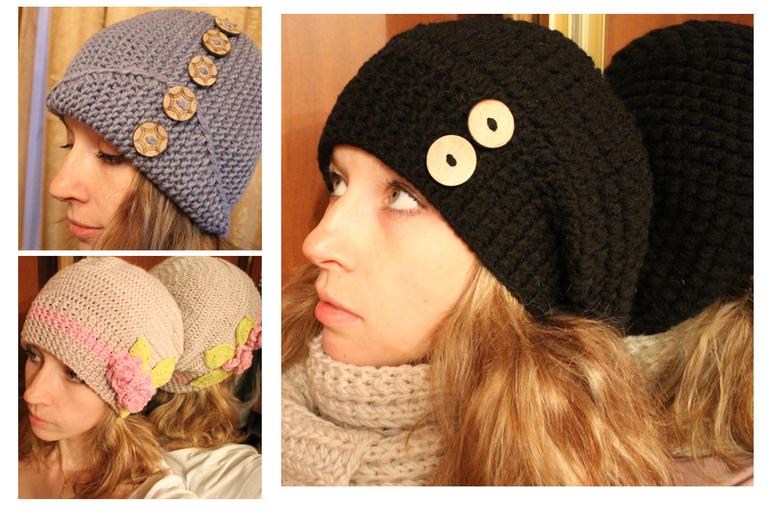 Три шапки на заказ)