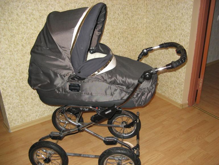 Коляска Bebecar Style AT в комплекте с фирменным креплением для автоперевозок +дождевик 10000 р