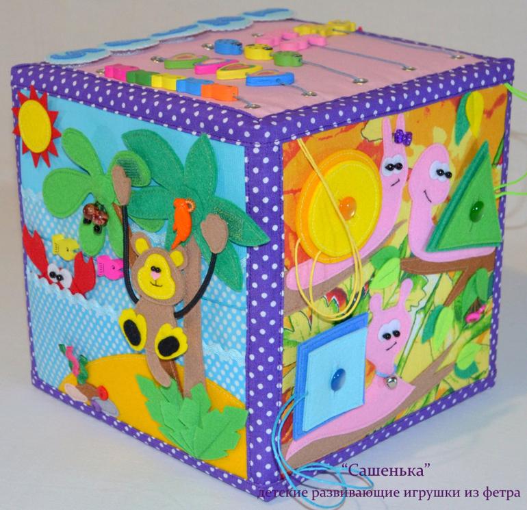 Мягкий кубик развивающий своими руками фото 95