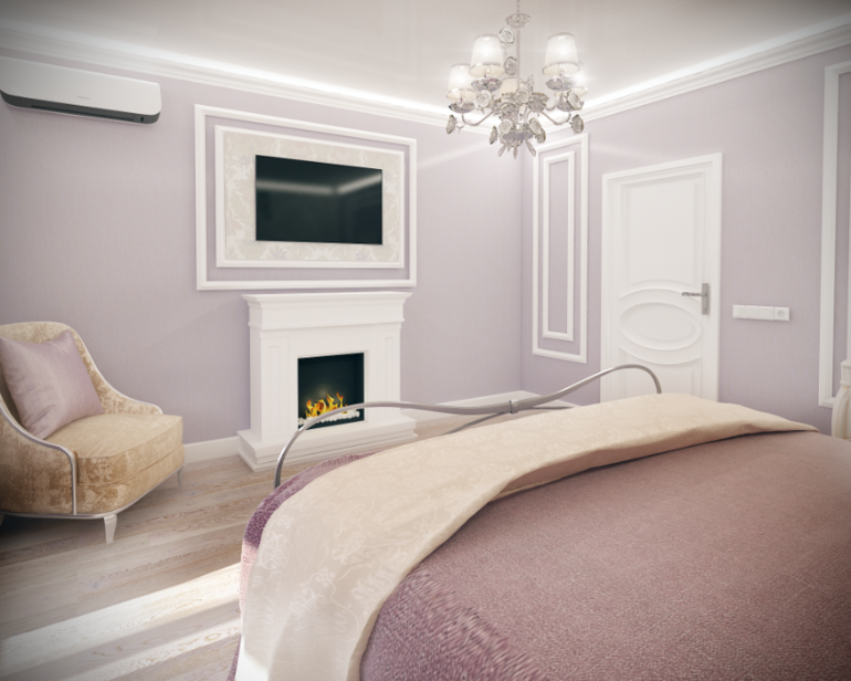 Дизайн спальни в квартире 16 кв.м
