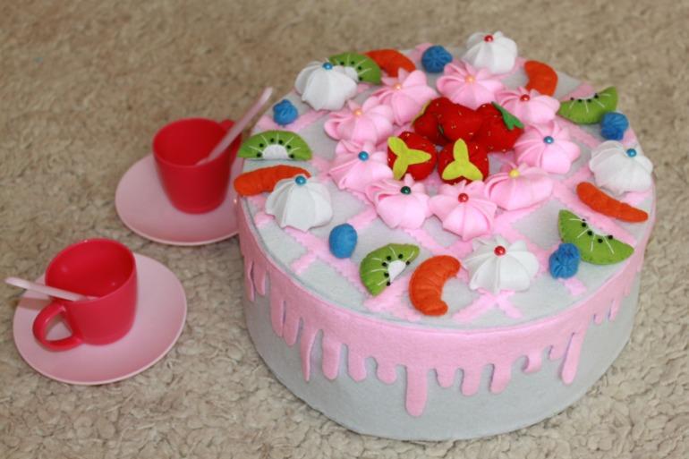 Как сделать игрушки на торт