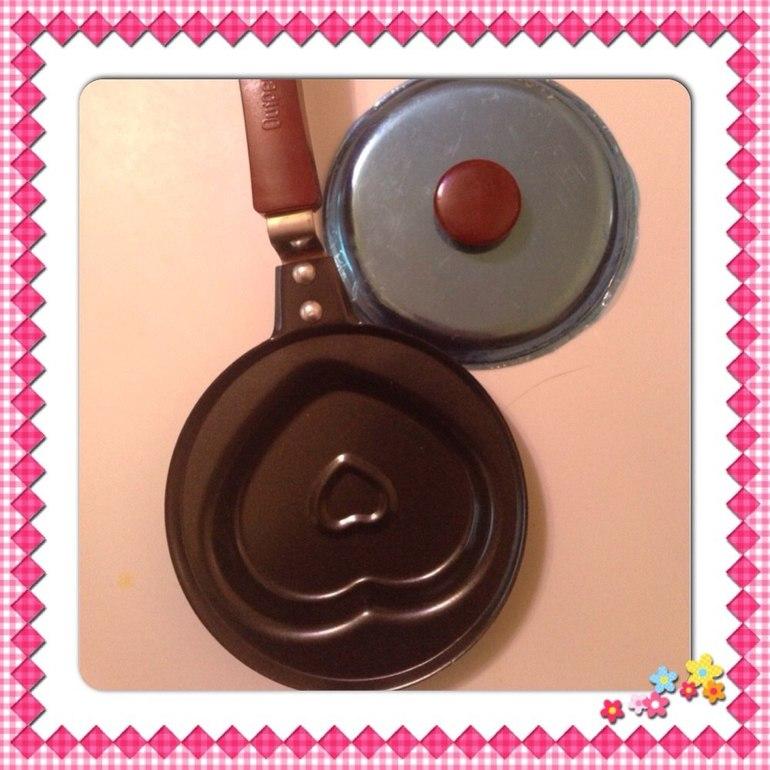 Сковородка в виде сердца