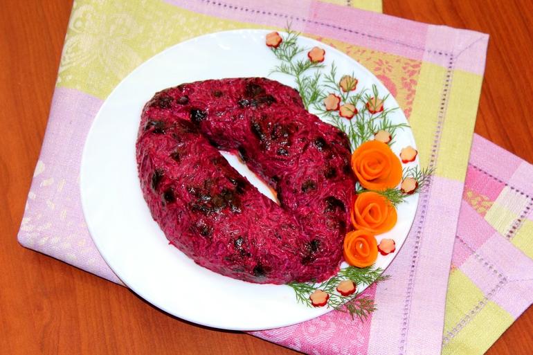 Рецепты салат любовница