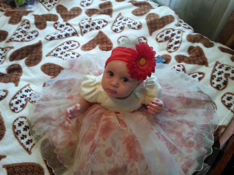 Красивущее платье для принцессы!