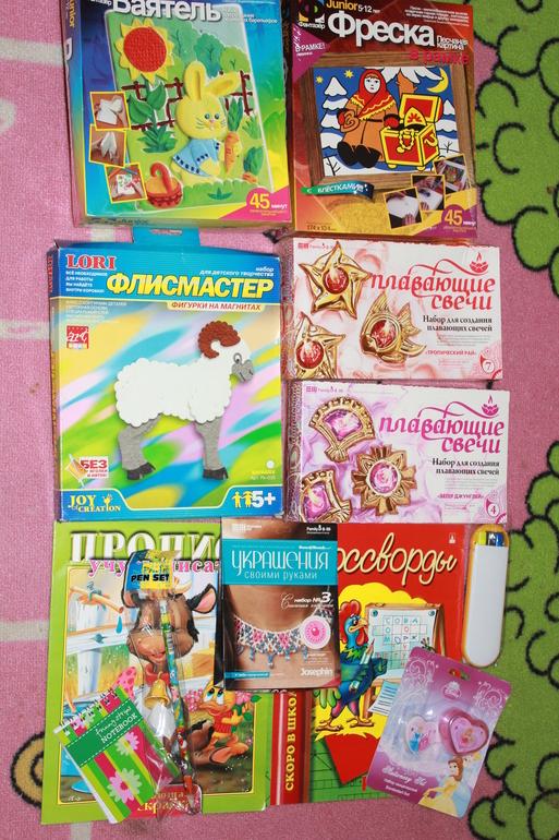 Конфетка для девочки от 6лет и старше :)