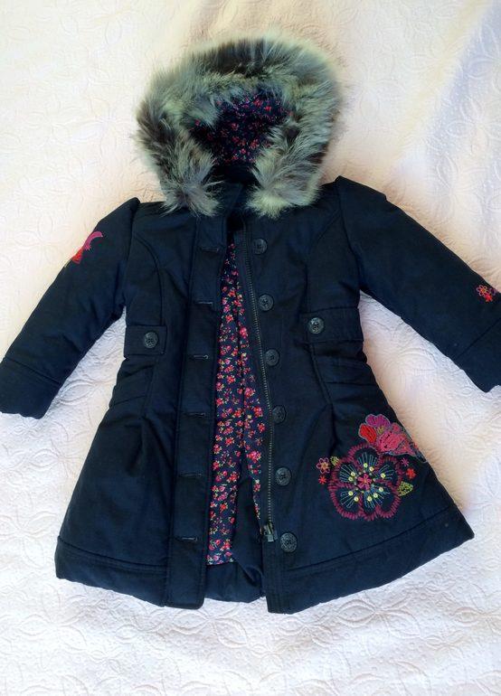 Зимнее пальто Catimini 5A, 3500 р СПб