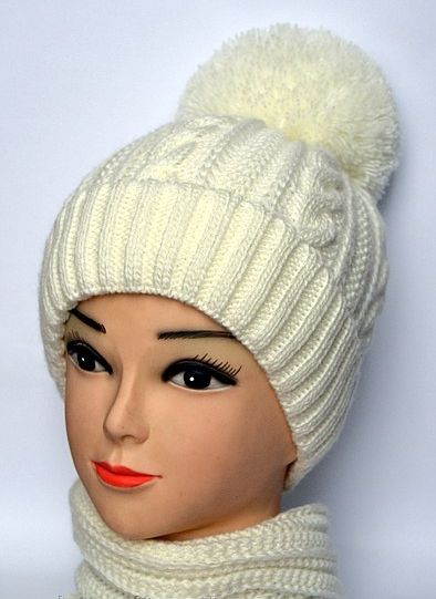 Как вязать шапки с отворотом - Какие вязаные шапки в моде? Вяжем с Лана Ви