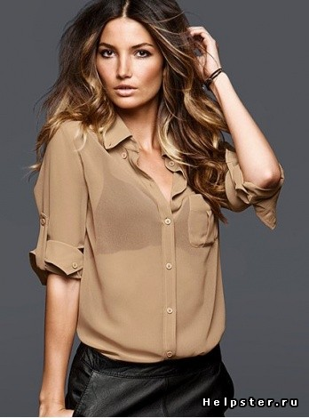 Куда можно одеть прозрачную блузку?