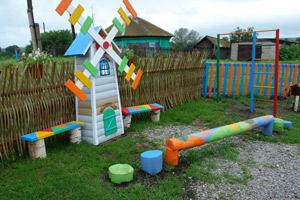Поделки из подручного материала для детской площадки