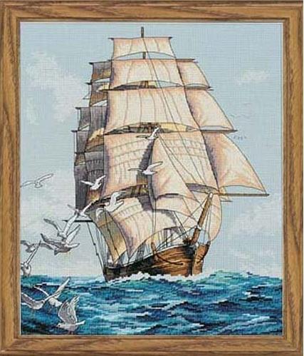 Значение вышивки корабль