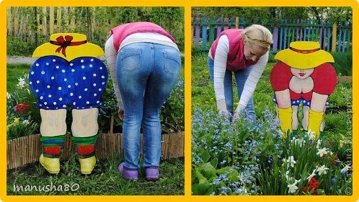 Фанерные фигурки для сада