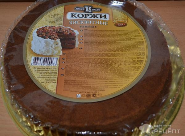 Крем для торта с готовыми бисквитными коржами рецепт с фото