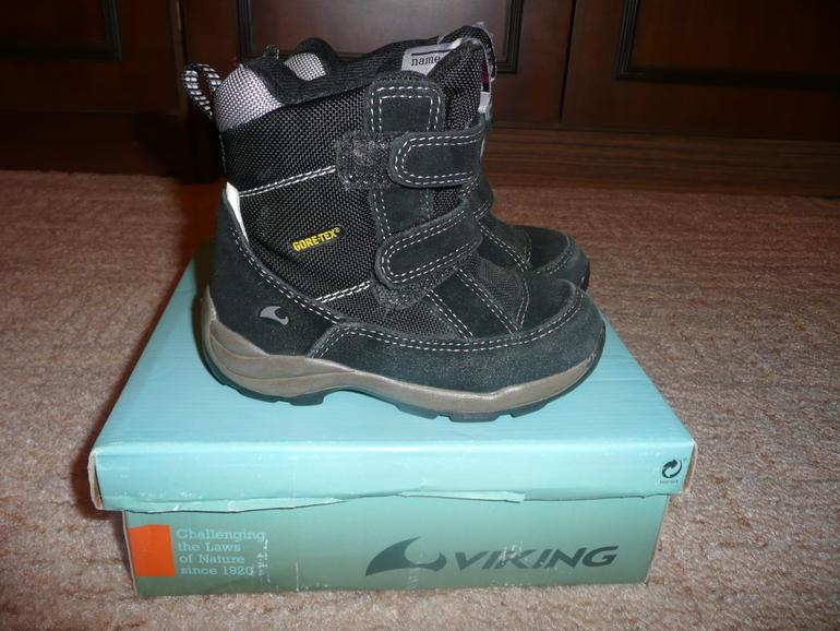 Продам ботинки Viking размер 24, идет на 25