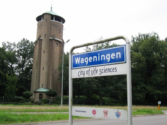 Nederland.  город Wageningen.  и парк Efteling