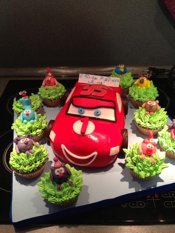 Огромное  спасибо  за  вкусный  торт  Марине!