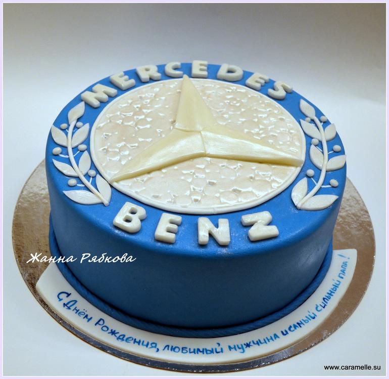 фото торт со знаком