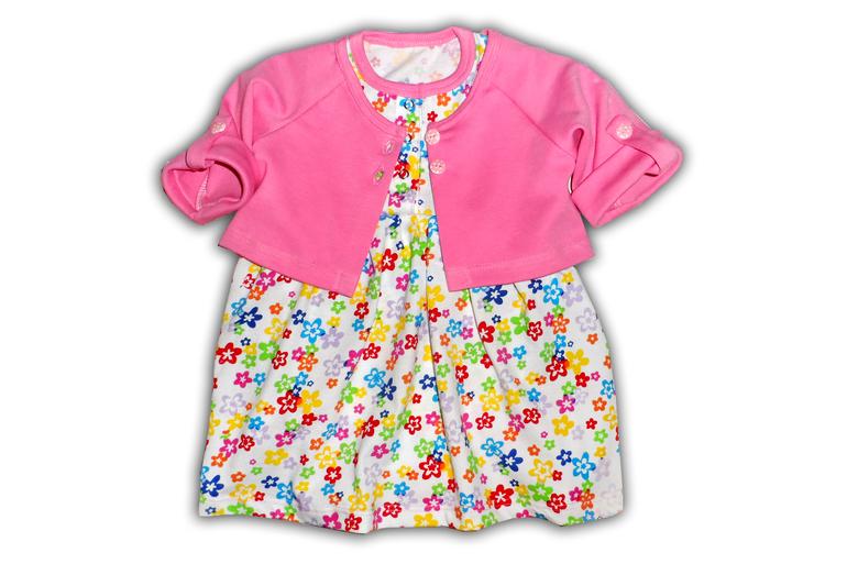 Как сшить платье боди для малышки 92