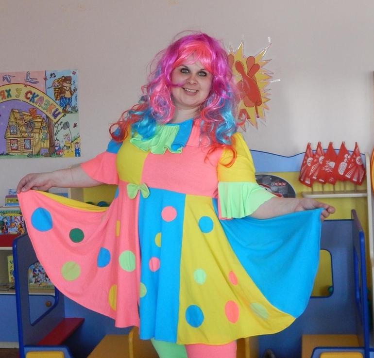 Как сделать костюм клоунессы своими руками 37
