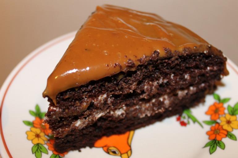 Субботний шоколадный кекс