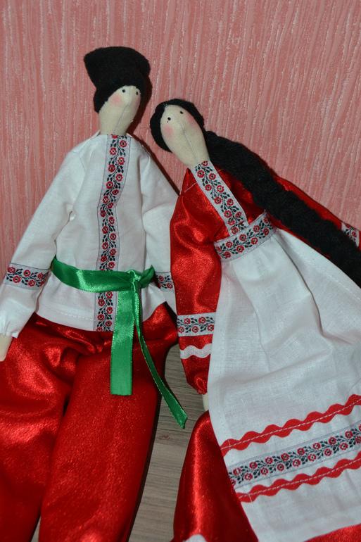 Как сшить куклу своими руками казака и казачку 75