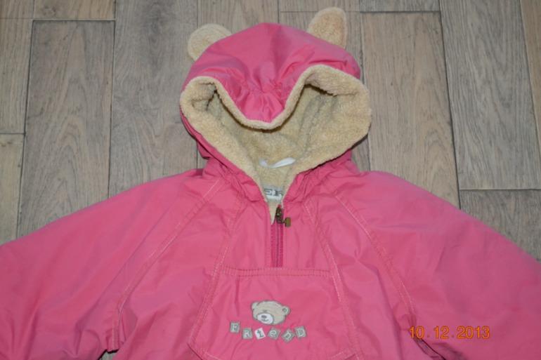 Комбинезон Kerry розовый с ушками, 86-92, 1500 руб.
