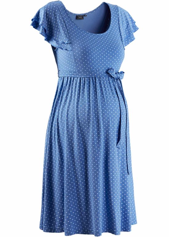 Голубые платья для беременных