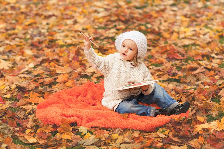 Дашина  золотая  осень