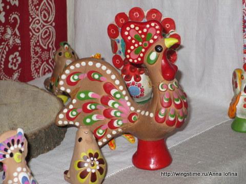 Познакомьте ребёнка с народной глиняной игрушкой