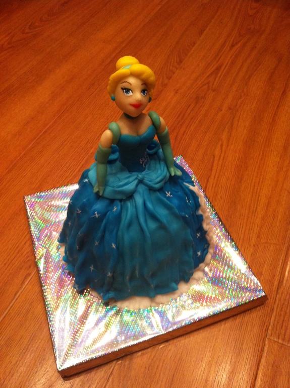 Подарок для золушки торт 16