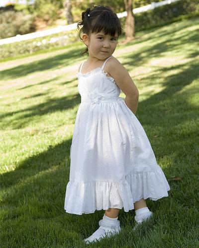 Нарядные платья для девочек из хлопка своими руками