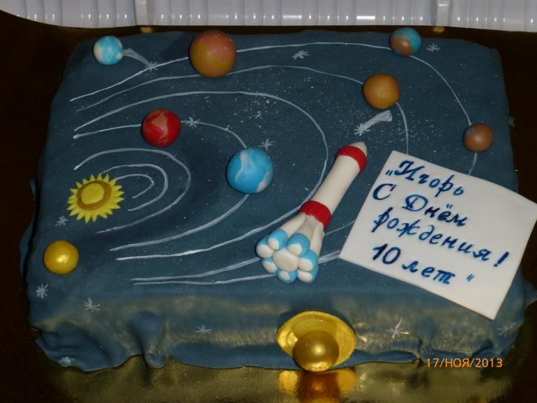 Торт для мальчика простой фото 4