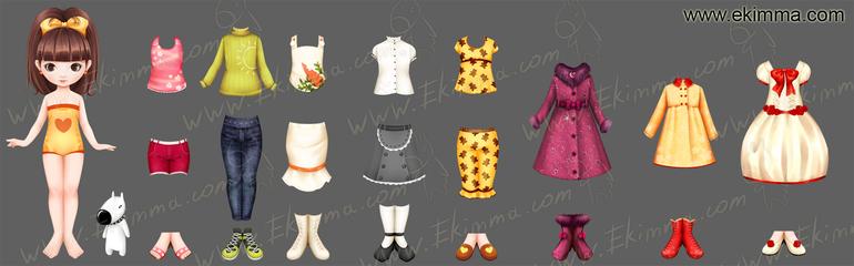 Как сделать из бумаги одежду для куклы