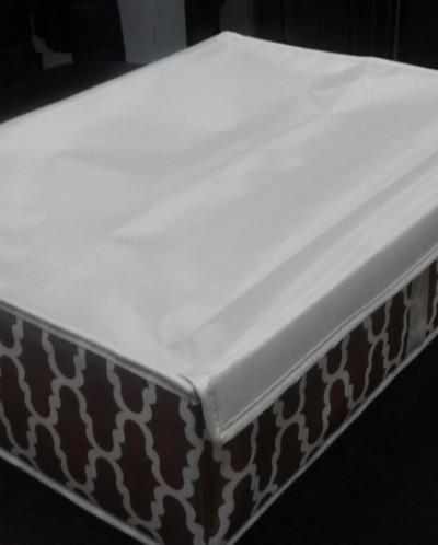 Ящик для белья 16 ячеек Премиум Кофейный
