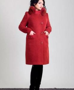 Зимнее Пальто  (красное дерево) Sergio Cotti